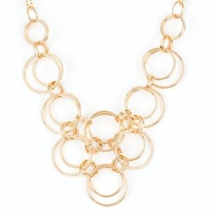 5 for $25 Gold Necklace with Earrings